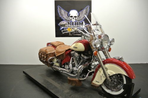 2009 Indian Chief Vintage -- Red photo