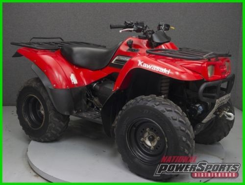 2009 Kawasaki KVF360 PRAIRIE 360 4X4 ATV Red for sale craigslist