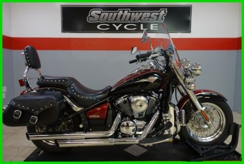 2009 Kawasaki Vulcan Classic RED/BLK photo
