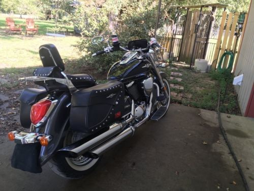 2009 Suzuki Boulevard Black photo
