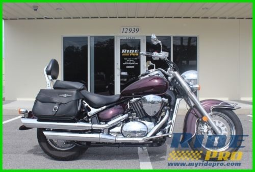 2009 Suzuki Boulevard C50 Maroon photo