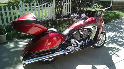 2009 Victory Vision Red for sale craigslist