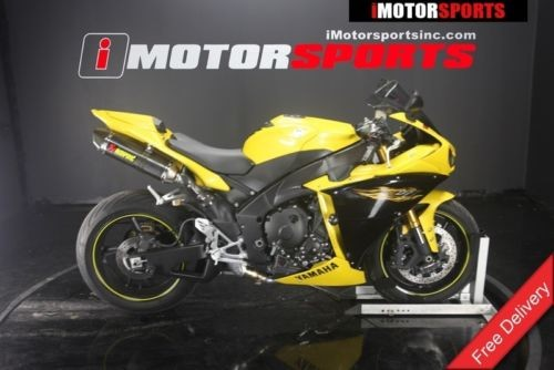 2009 Yamaha YZF-R — Yellow for sale craigslist