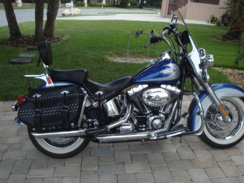 2010 Harley-Davidson Softail Blue for sale craigslist