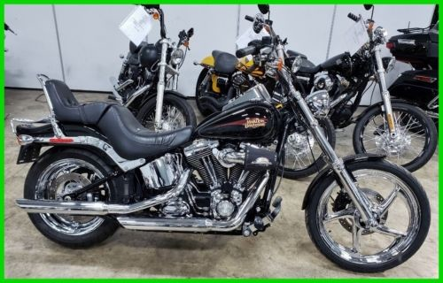 2010 Harley-Davidson Softail Custom Vivid Black photo