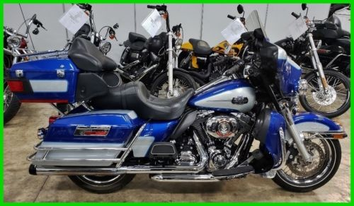 2010 Harley-Davidson Touring Flame Blue Peal / Brilliant Silver Pearl photo