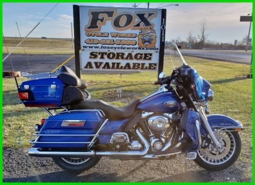 2010 Harley-Davidson Touring Flame Blue Pearl photo