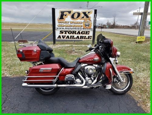 2010 Harley-Davidson Touring Red Hot Sunglo photo