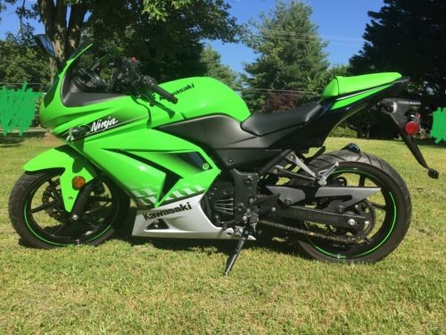 2010 Kawasaki Ninja Green photo
