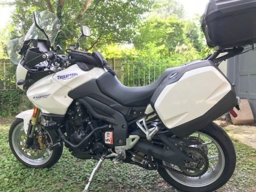 2010 Triumph Tiger White for sale