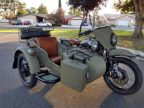 2010 Ural Gear Up 2WD Green photo