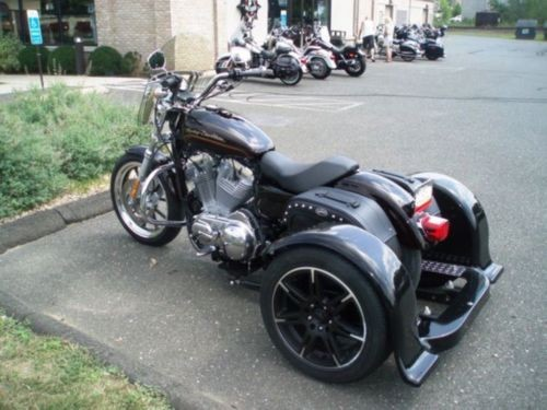 2011 Harley-Davidson 883L with Trigg Trike Merlot for sale craigslist