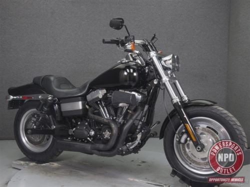 2011 Harley-Davidson Dyna FXDF DYNA FAT BOB VIVID BLACK photo