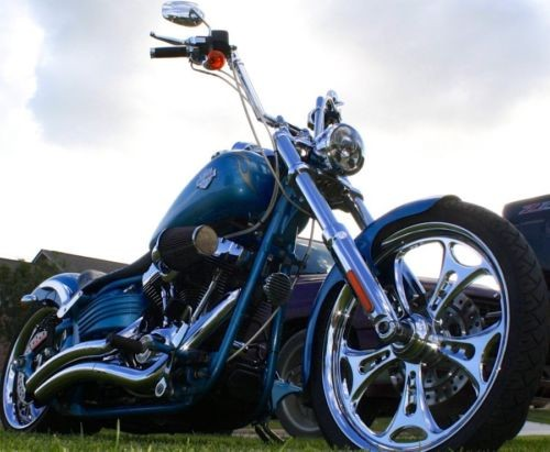 2011 Harley-Davidson Softail Blue photo