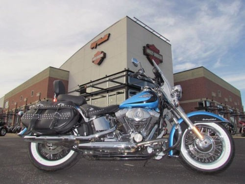 2011 Harley-Davidson Touring HERITAGE CLASSIC Blue photo