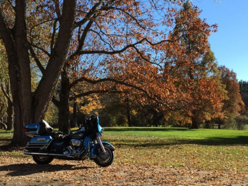 2011 Harley-Davidson Touring Cool Blue photo