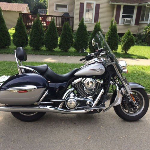 2011 Kawasaki Vulcan Blue for sale craigslist | Used motorcycles for