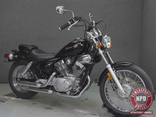 2011 Yamaha V Star XV250 VSTAR 250 Black photo