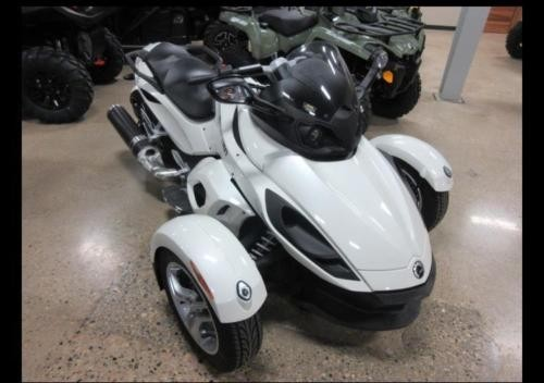 2012 Can-Am SE5 White photo
