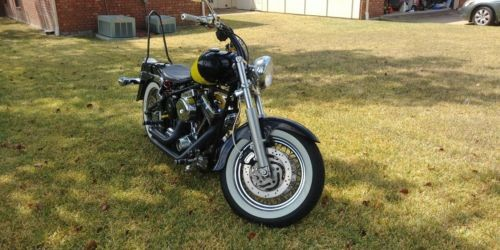 2012 Custom Built Motorcycles Bobber Black photo