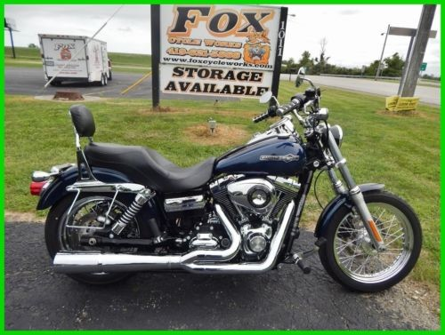 2012 Harley-Davidson Dyna FXDC Super Glide® Custom Big Blue Pearl photo