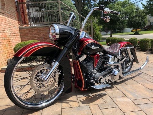 2012 Harley-Davidson Softail Red for sale craigslist