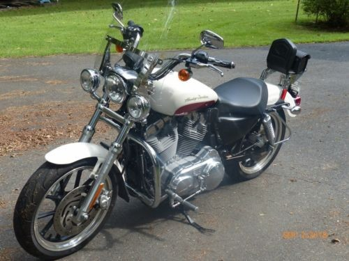 2012 Harley-Davidson Sportster White photo