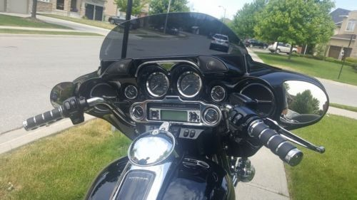 Harley-Davidso<wbr/>n: Touring Black for sale craigslist