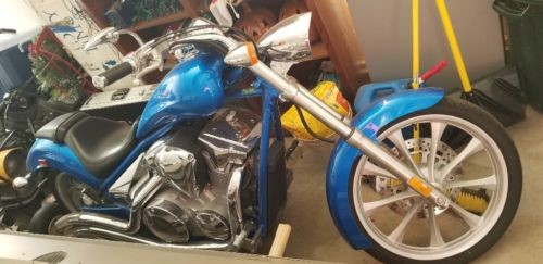 2012 Honda Fury Blue photo
