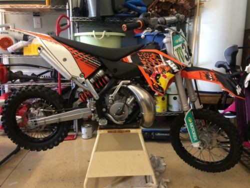 2012 KTM SX Orange photo