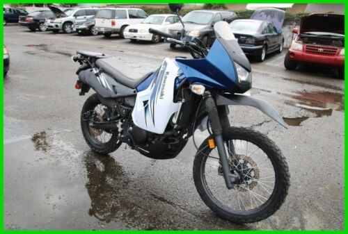 2012 Kawasaki KLR 650™ Blue photo