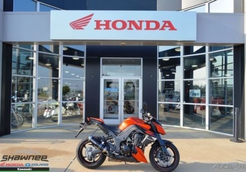 2012 Kawasaki Z 1000 Orange photo