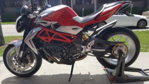2012 MV Agusta BRUTALE 1090RR -- Red photo