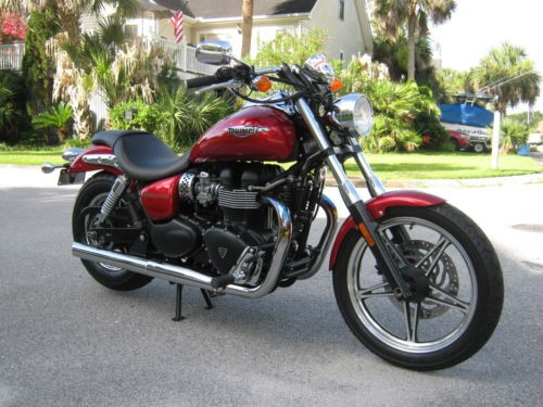 2012 Triumph Speedmaster Burgundy for sale