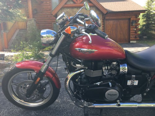 2012 Triumph Speedmaster Red for sale
