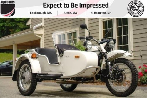 2012 Ural Patrol 2WD White Gloss Custom White photo