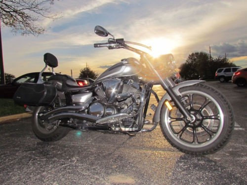 2012 Yamaha V Star V-STAR 950 Silver photo