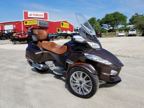 2013 Can-Am Spyder RT Limited Brown photo