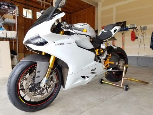 2013 Ducati PANIGALE 1199 S White for sale craigslist