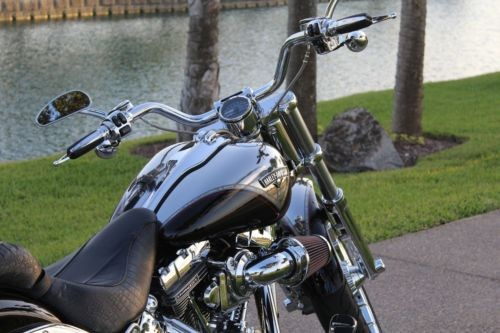 2013 Harley-Davidson Softail Black photo