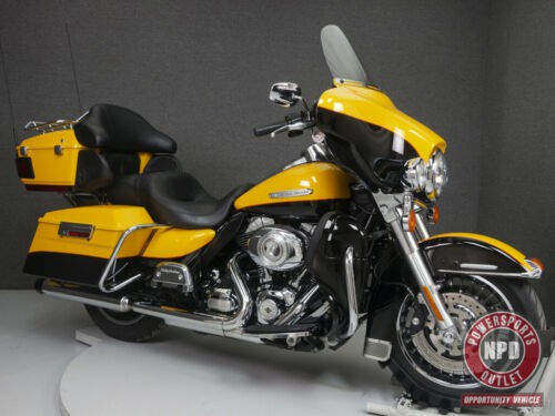 2013 Harley-Davidson Touring Flhtk Electra Glid CHROME YELLOW PEARL/VIVID BLACK photo