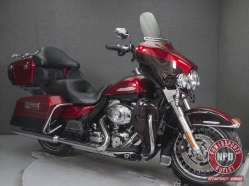 2013 Harley-Davidson Touring FLHTK ELECTRA GLIDE ULTRA LIMITED W/ABS EMBER RED SUNGLO/MERLOT photo