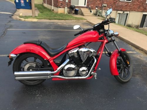 2013 Honda Fury Red for sale