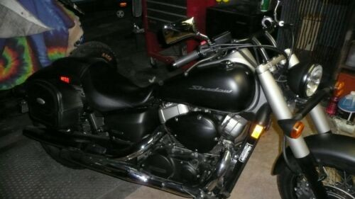 2013 Honda shadow phantom Black photo