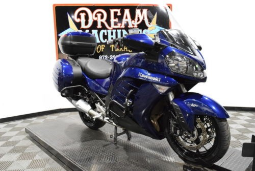2013 Kawasaki Concours 14 ABS — Blue for sale