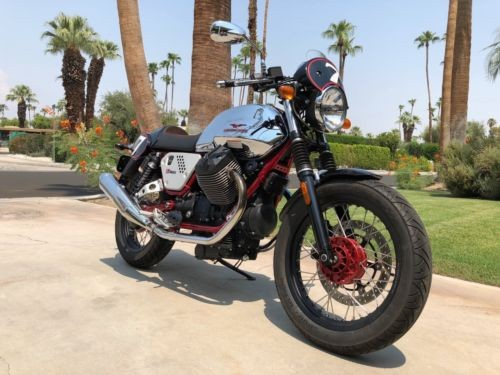 2013 Moto Guzzi V7 RACER Chrome for sale