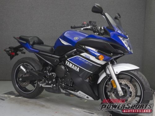 2013 Yamaha FZ 6R 600 DEEP PURPLISH BLUE METALLIC photo
