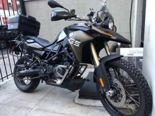 2014 BMW F800GS Green for sale