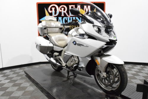 2014 BMW K 1600 GTL Exclusive — White for sale