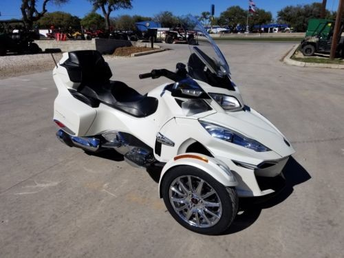 2014 Can-Am Spyder RT Limited White photo